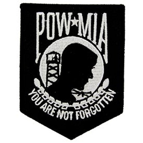 "POW*MIA ""You Are Not Forgotten"" Small Patch"