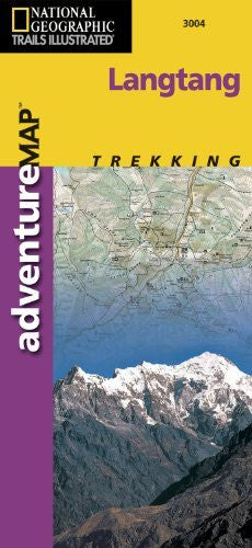Trails Illustrated - Adventure Map-Langtang, Nepal - Adventure Map (National Geographic Adventure Map)