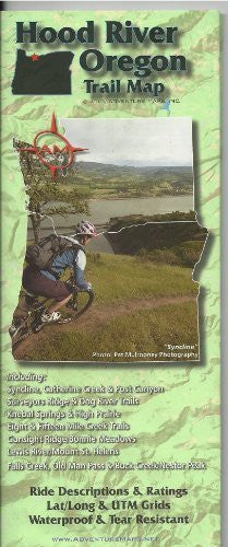 Hood River Trail Map - Wide World Maps & MORE! - Sports - Wide World Maps & MORE! - Wide World Maps & MORE!