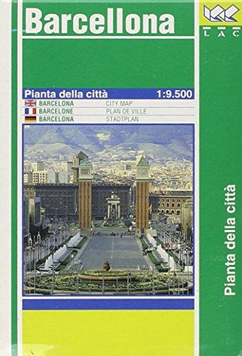 us topo - International Town Map Barcelona - Wide World Maps & MORE! - Book - Wide World Maps & MORE! - Wide World Maps & MORE!
