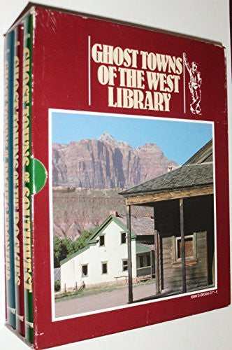 us topo - Ghost Towns of the West Library (Ghost Towns of the --PACIFIC FRONTIER, SOUTHWEST & THE ROCKIES, 3- VOLUME HARDCOVER SET) - Wide World Maps & MORE! - Book - Wide World Maps & MORE! - Wide World Maps & MORE!