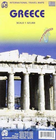 1. Greece Travel Ref. Map 1:625,000 (International Travel Maps)