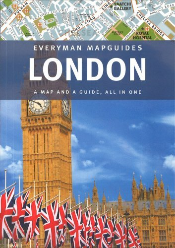London:  A Map and A Guide, All in One (Everyman MapGuides) - Wide World Maps & MORE! - Book - Alfred A. Knopf - Wide World Maps & MORE!