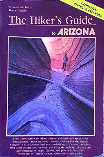 The Hiker's Guide to Arizona (A Falcon guide) - Wide World Maps & MORE! - Book - Wide World Maps & MORE! - Wide World Maps & MORE!