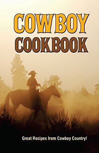 Cowboy Cookbook - Wide World Maps & MORE! - Book - Golden West Publishers - Wide World Maps & MORE!