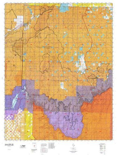 us topo - Arizona 13B Hunt Area / Game Management Units (GMU) Map - Wide World Maps & MORE! - Book - Wide World Maps & MORE! - Wide World Maps & MORE!