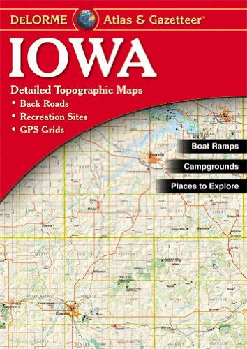 Iowa Atlas & Gazetteer