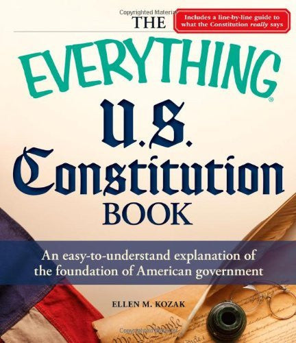 us topo - The Everything U.S. Constitution Book: An easy-to-understand explanation of the foundation of American government - Wide World Maps & MORE! - Book - Wide World Maps & MORE! - Wide World Maps & MORE!