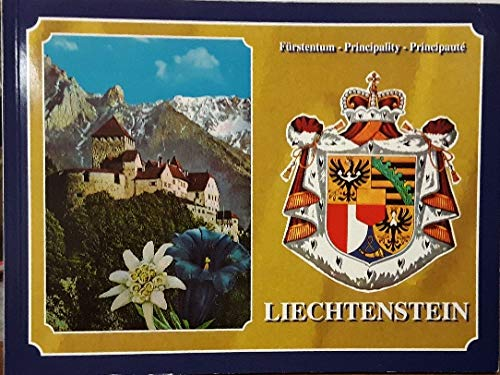 PRINCIPALITY OF LIECHTENSTEIN - Wide World Maps & MORE! - Book - Wide World Maps & MORE! - Wide World Maps & MORE!