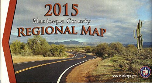 us topo - 2015 Maricopa County Regional Map - Wide World Maps & MORE! - Book - Wide World Maps & MORE! - Wide World Maps & MORE!