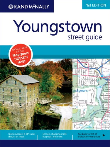 Rand McNally Street Guide: Youngstown (Rand McNally Youngstown Street Guide) - Wide World Maps & MORE! - Book - Brand: Rand Mcnally - Wide World Maps & MORE!