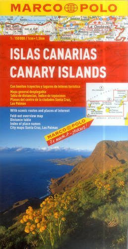 Canary Islands Marco Polo Map (Marco Polo Maps)