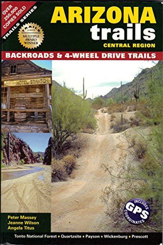 us topo - Arizona Trails - Central Region (Backroads & 4-Wheel Drive Trails) - Wide World Maps & MORE! - Book - Wide World Maps & MORE! - Wide World Maps & MORE!