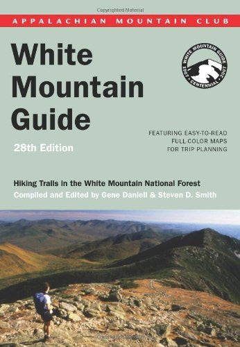 us topo - AMC White Mountain Guide, 28th: Hiking trails in the White Mountain National Forest (Appalachian Mountain Club White Mountain Guide) - Wide World Maps & MORE! - Book - Globe Pequot Press - Wide World Maps & MORE!