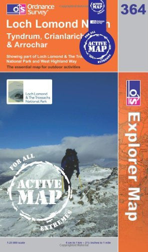 Loch Lomond North (OS Explorer Map Active) - Wide World Maps & MORE! - Book - Wide World Maps & MORE! - Wide World Maps & MORE!