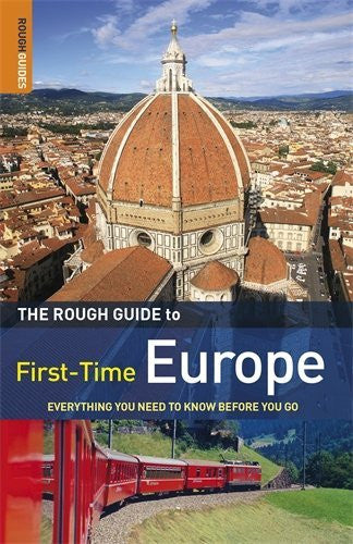 us topo - The Rough Guide First-Time Europe 8 (Rough Guide to First-Time Europe) - Wide World Maps & MORE! - Book - Brand: Rough Guides - Wide World Maps & MORE!