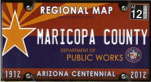 2012 Maricopa County Regional Map