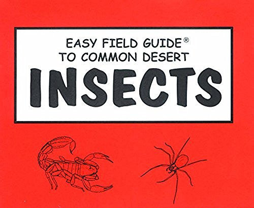 us topo - Easy Field Guide to Common Desert Insects (Easy Field Guides) - Wide World Maps & MORE! - Book - Brand: Primer Pub - Wide World Maps & MORE!