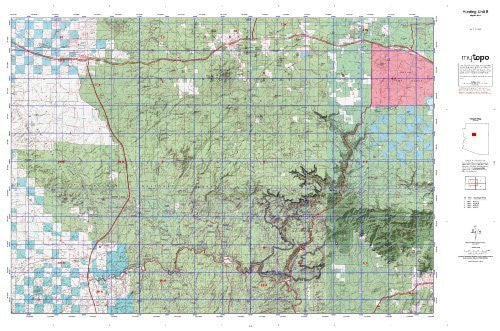us topo - Hunting Unit 8 (Western State Hunt Area Maps, AZ-8) - Wide World Maps & MORE! - Book - Wide World Maps & MORE! - Wide World Maps & MORE!