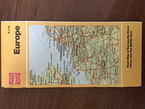 us topo - MapArt Europe Road Map - Wide World Maps & MORE! - Book - Wide World Maps & MORE! - Wide World Maps & MORE!