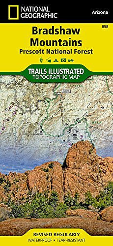 us topo - Bradshaw Mountains [Prescott National Forest] (National Geographic Trails Illustrated Map) - Wide World Maps & MORE! - Book - National Geographic Maps - Wide World Maps & MORE!