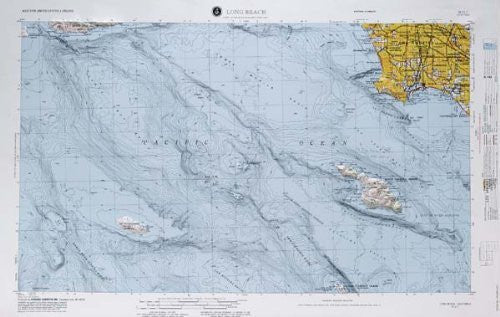 us topo - Long Beach, California - Wide World Maps & MORE! - Book - Wide World Maps & MORE! - Wide World Maps & MORE!