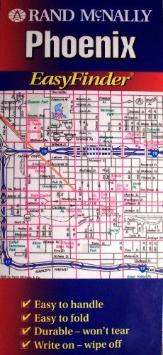 Rand McNally Phoenix Easyfinder Map