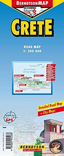 us topo - Crete - Wide World Maps & MORE! - Book - Berndtson Maps - Wide World Maps & MORE!