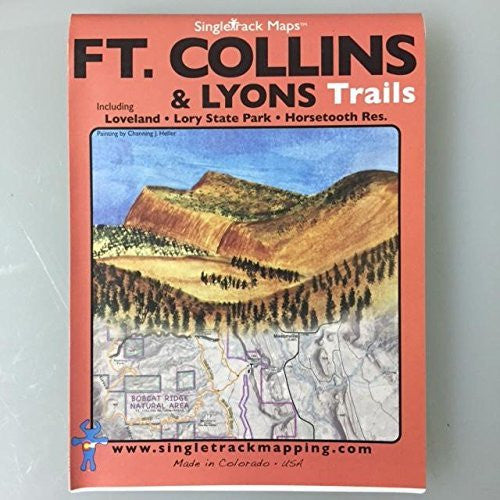 us topo - Ft. Collins & Lyons Trails: Loveland, Lory State Park, Horsetooth Res. - Wide World Maps & MORE! - Book - Wide World Maps & MORE! - Wide World Maps & MORE!