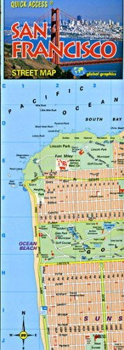 Quick Access San Francisco - Wide World Maps & MORE! - Book - Wide World Maps & MORE! - Wide World Maps & MORE!