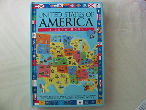 us topo - United States Of America Jigsaw Book - Wide World Maps & MORE! - Book - Wide World Maps & MORE! - Wide World Maps & MORE!