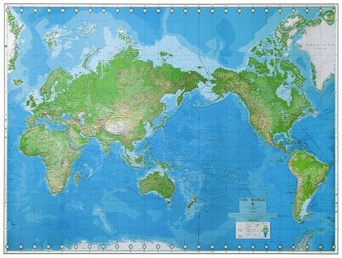 World Wall Map - Wide World Maps & MORE! - Book - Defense Mapping Agency - Wide World Maps & MORE!