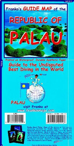 us topo - Franko's Guide Map of the Republic of Palau - Wide World Maps & MORE! - Book - FrankosMaps - Wide World Maps & MORE!