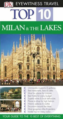 us topo - Milan and the Lakes (DK Eyewitness Top 10 Travel Guide) - Wide World Maps & MORE! - Book - Wide World Maps & MORE! - Wide World Maps & MORE!