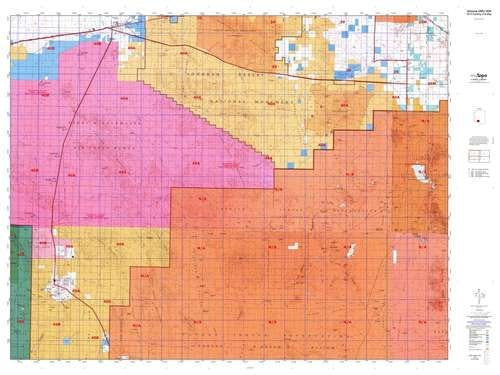 Arizona GMU 40A Hunt Area / Game Management Units (GMU) Map
