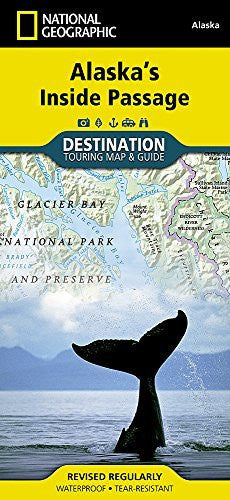 us topo - Alaska's Inside Passage: Destination Map - Wide World Maps & MORE! - Book - National Geographic Maps - Wide World Maps & MORE!