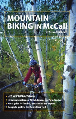 Mountain Biking in McCall - Wide World Maps & MORE! - Book - Boise Front Adventures - Wide World Maps & MORE!
