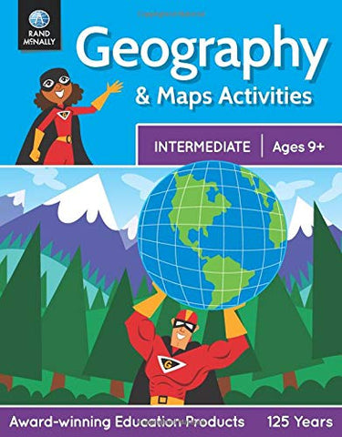 Geography & Maps Activities, Intermediate | Ages 9+