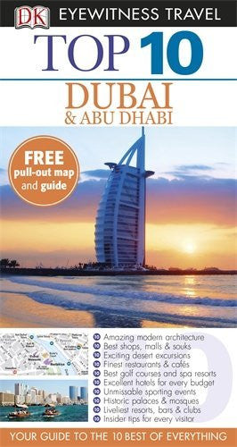 us topo - DK Eyewitness Top 10 Travel Guide: Dubai and Abu Dhabi - Wide World Maps & MORE! - Book - Wide World Maps & MORE! - Wide World Maps & MORE!
