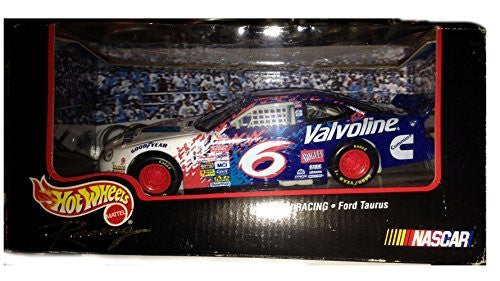 1998 Hot Wheels Racing - #6 Valvoline - Roush Racing - Ford Taurus - 1:43 scale Die-cast NASCAR collectible - Wide World Maps & MORE! - Toy - Hot Wheels - Wide World Maps & MORE!