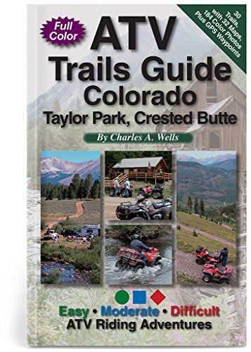 us topo - ATV Trails Guide Colorado Taylor Park, Crested Butte - Wide World Maps & MORE! - Book - Wide World Maps & MORE! - Wide World Maps & MORE!