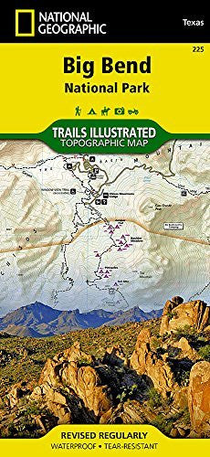 us topo - Big Bend National Park (National Geographic Trails Illustrated Map) - Wide World Maps & MORE! - Book - National Geographic - Wide World Maps & MORE!