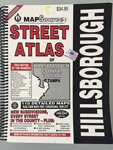MapSource Hillsborough County Street Atlas
