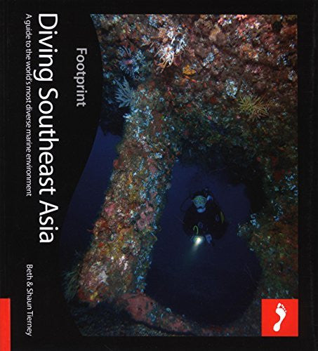 us topo - Diving Southeast Asia: A Guide To Asia's Tropical Seas (Footprint - Activity Guides) - Wide World Maps & MORE! - Book - Tierney, Beth/ Tierney, Shaun - Wide World Maps & MORE!