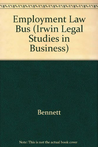 us topo - Employment Law for Business (Irwin Legal Studies in Business) - Wide World Maps & MORE! - Book - Wide World Maps & MORE! - Wide World Maps & MORE!