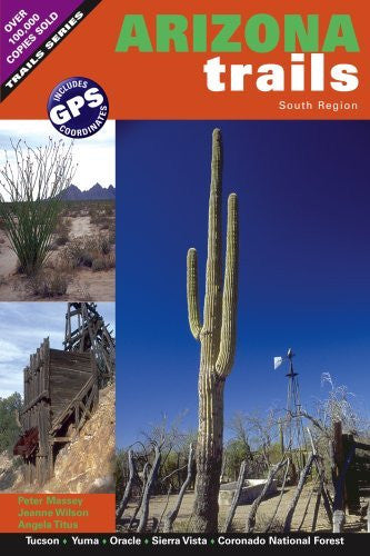us topo - Arizona Trails South Region - Wide World Maps & MORE! - Book - Brand: Adler Publishing - Wide World Maps & MORE!