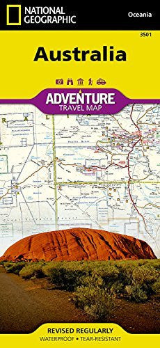 us topo - Australia (National Geographic Adventure Map) - Wide World Maps & MORE! - Book - Universal Map - Wide World Maps & MORE!