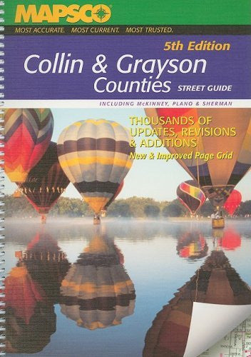 Mapsco Collin & Grayson Counties: Street Guide (Mapsco Street Guide and Directory Collin and Grayson Counties)