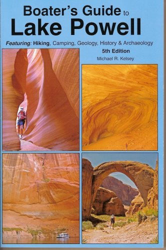 Boater's Guide to Lake Powell - Wide World Maps & MORE! - Book - KELSEY PUBLISHING - Wide World Maps & MORE!