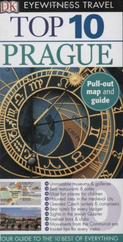 us topo - Top 10 Prague (Eyewitness Top 10 Travel Guides) - Wide World Maps & MORE! - Book - Brand: DK Travel - Wide World Maps & MORE!